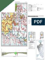 Mapa Geologico Del Cuadrangulo de Las Lomas- Hoja 10-C-III