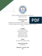 Proyecto Tesis Papaya Verde Yanina Delva