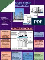 Bancos de Osmosis Inversa y Torres de Destilacion (1)