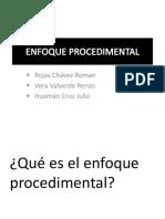 Exposicion 2-Enfoque Procedimental