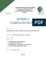 Informe Identificacion Estructural de Farmacos