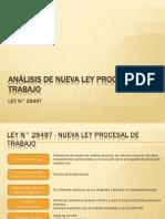 analisis y resumen de ley 29497.ppt