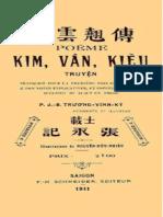 (1911) Kim Vân Kiều Truyện - Trương Vĩnh Ký