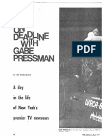 On Deadline with Gabe Pressman