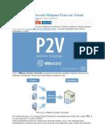 Tutorial P2V VMware Converter