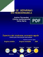 Anticoagulacion Con Heparinas