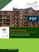 Guide for Designing Energy Efficient Building Enclosures