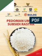 Pedoman Umum Subsidi Rastra