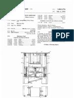 ADJUSTABLE SELF-LEVELING DISPENSER (US patent 3863576)