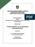 Guia 1 2017 Teoria Gral Derechos Fundamentales.