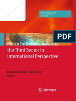 Benjamin Gidron, Michal Bar - Policy Initiatives Towards the Third Sector in International Perspective
