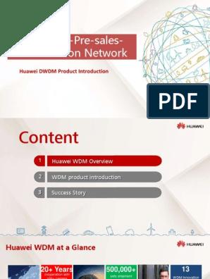 1-3 Huawei DWDM Product Introduction (2) | Wavelength