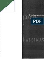 Habermas-En La Espiral de La Tecnocracia