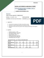 Informe 6 Flujo Laminar