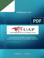 Problema N 2.20