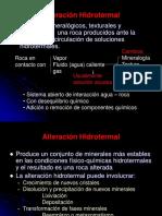 6 - Alteracion Hidrotermal