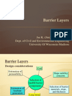 427 Barrier Layers