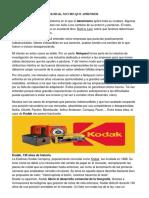 El Caso Kodak