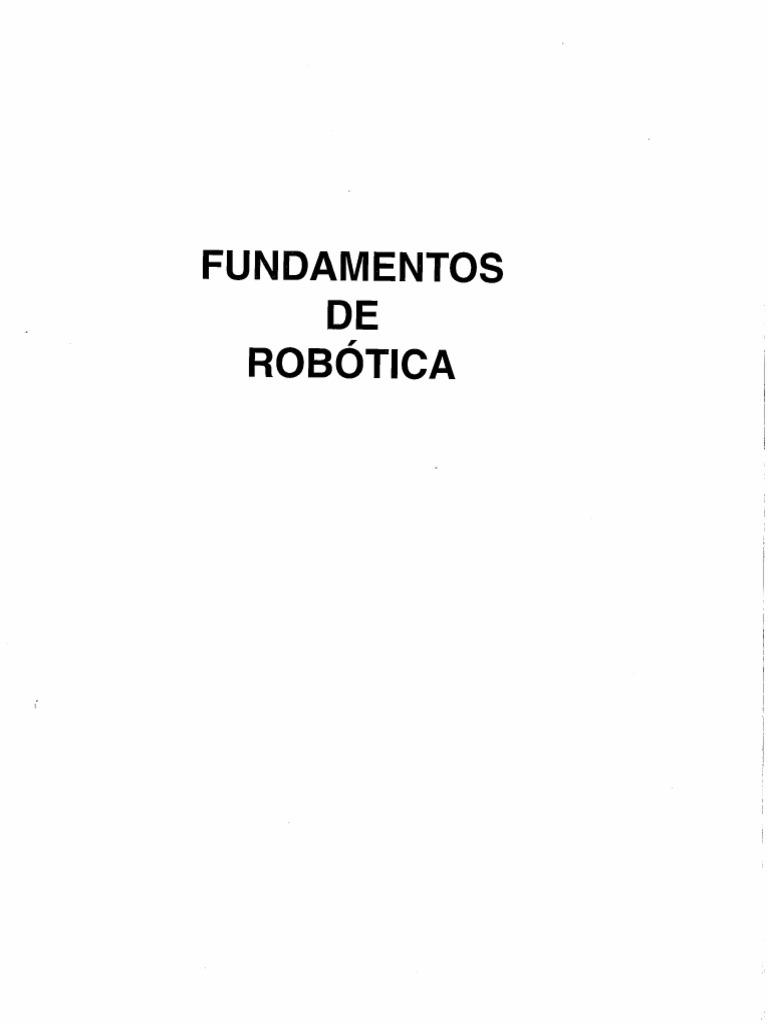 Robotica download de ebook fundamentos barrientos