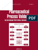 Pharmaceutical Process Validation 3rd (Int'l) Ed - R. Nash, A.wachter (Marcel Dekker, 2003) WW