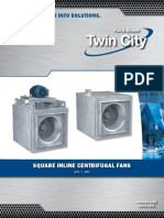Dsi Bsi Direct and Belt Driven Square Inline Fans Catalog 4205