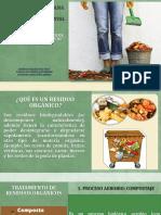 Residuos Orgánicos, Tratamiento y Minimización