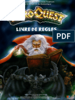 Hero Quest 2011 Livre de Reg Les