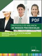 Manual de Trabajo Para Los Riesgos Psicosociales (Septiembre 2015)