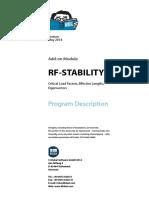 Rf Stability Manual En