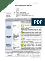 UNIDAD DE APRENDIZAJES N° 1 II - 1º a 6º damtt 2017