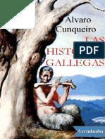 Las Historias Gallegas - Alvaro Cunqueiro