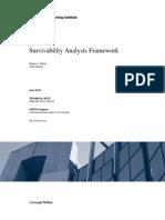 Survivability Analysis Framework