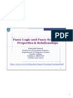 CS4001 FuzzySets Systems Properties Lect 2