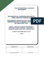 Dcd Modelo Servicios Generales - Re Sabs Epne Ypfb......