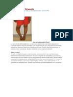 Traumatología y Ortopedía