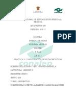PRACTICA 3- Configuracion de Rutas Estaticas
