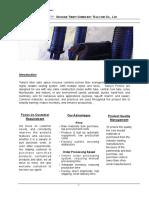 Tianyi Fiber Optic Splice Closure(FOSC) Catalogue-inline closure and dome closure