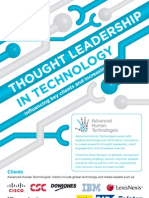 Thought Leadership in Technology - Advanced Human Technologies