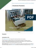 VT Param Definitions