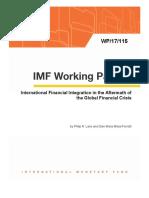 FMI on FDI and Finnacial Centers