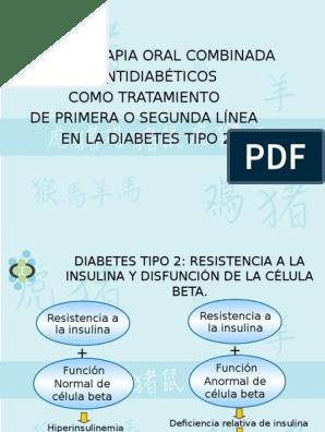 diabetes tipo 1 y tipo 2 combinadas
