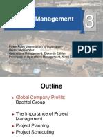 Project ManagementChapter 3