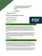 Uso de Aserrín y Acículas Como Sustrato de Germinación y Crecimiento de Quercus Humboldtii