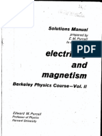 Edward Purcell - Solution Manual -  Electricity and Magnetism.pdf