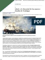 «Santísima Trinidad»_ El «Escorial de Los Mares» Hundido Tras La Batalla de Trafalgar - ABC