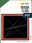 Herbert Marcuse-Ontología de Hegel y teoría de la historicidad