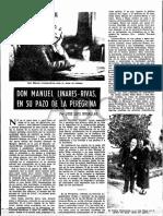 Linares Rivas en su pazo Da Peregrina I