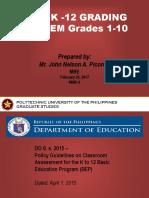 Advance Measurement- Grading System - Copy