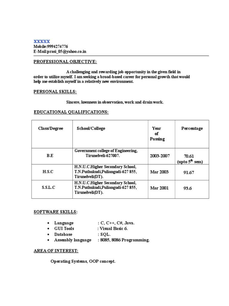 resume22 doc