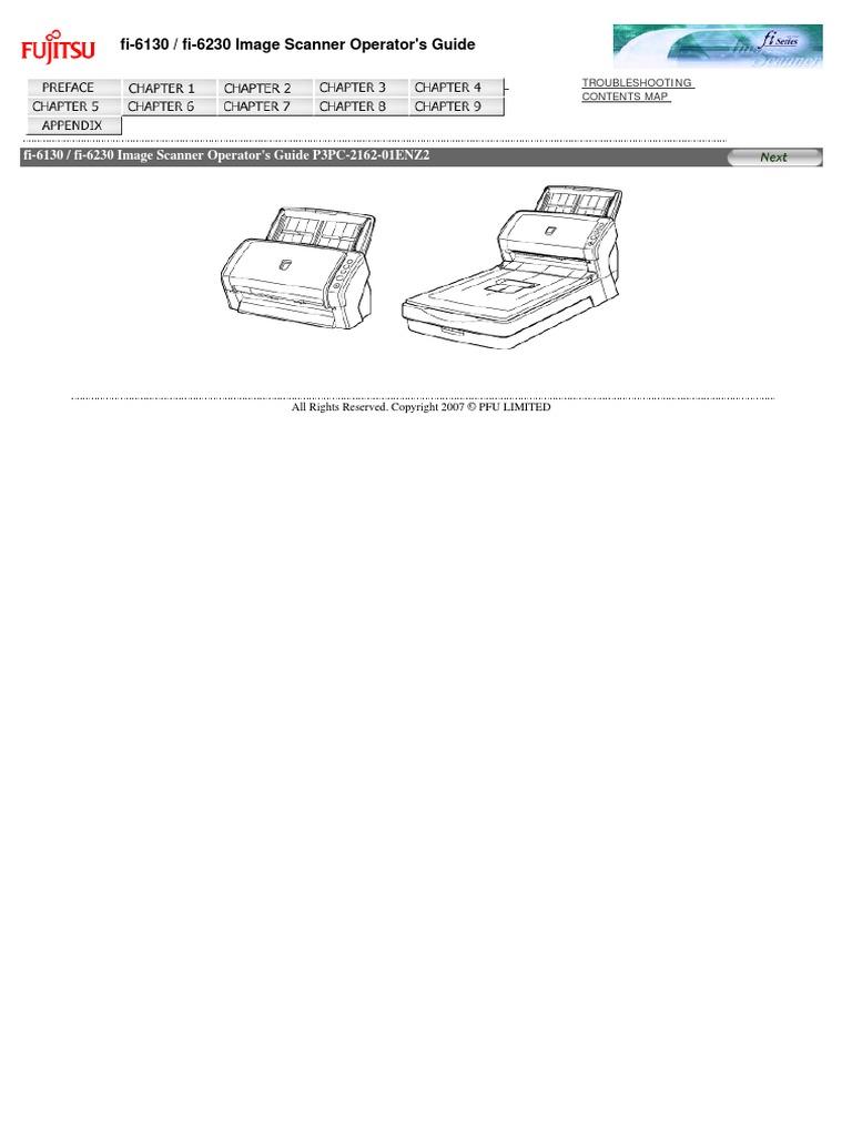 fujitsu fi-6130 drivers windows 10